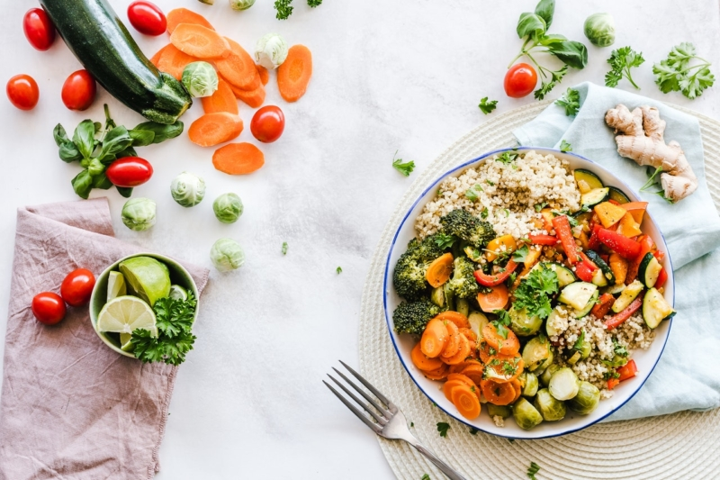 alimentation saine végétarien naturopathie