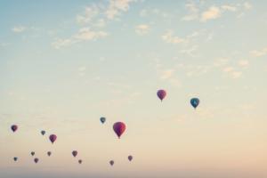 montgolfière liberté émotion
